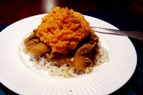 Black-Eyed Peas and Sweet Potato Dish